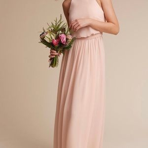 Donna Morgan blush gown